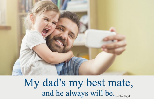 Cute Fathers Day Status From Daughter in English