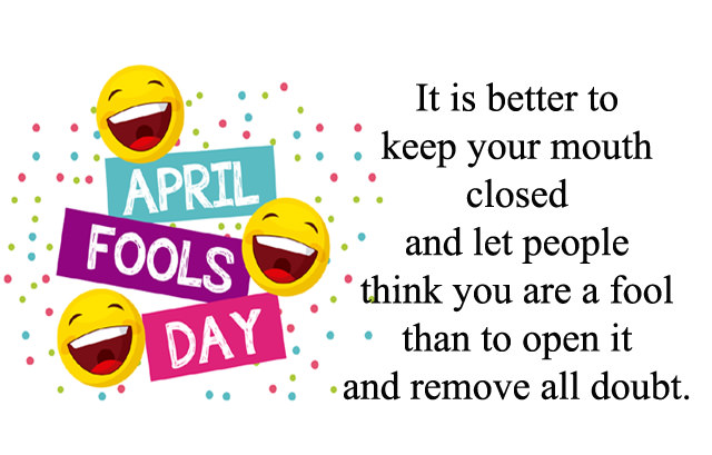 Funny April Fools Day Quotes, Best Hilarious Fools Day Lines