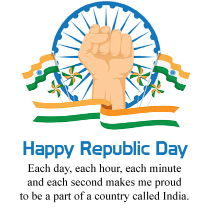 Happy Republic Day Message in English