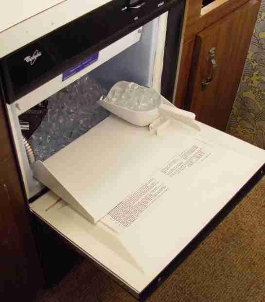 repairing the whirlpool and kitchenaid ice machines