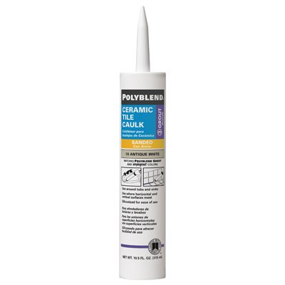 polyblend ceramic tile caulk light smoke 10 5 oz