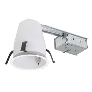 recessed light housing non insulation contact 4 in