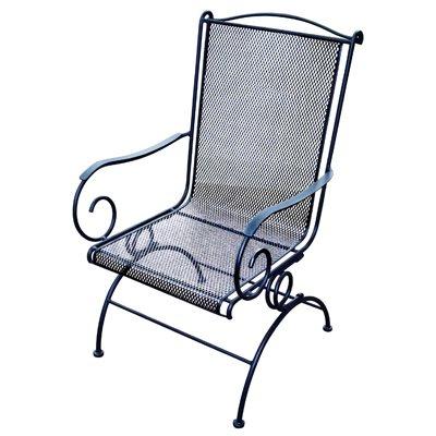 uptown coil spring rocker chair black steel
