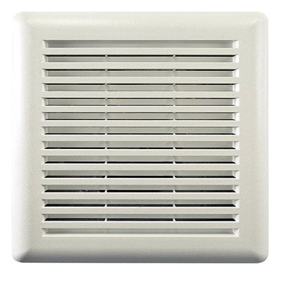 invent bathroom exhaust fan grille white 11 1 2 x 12 in