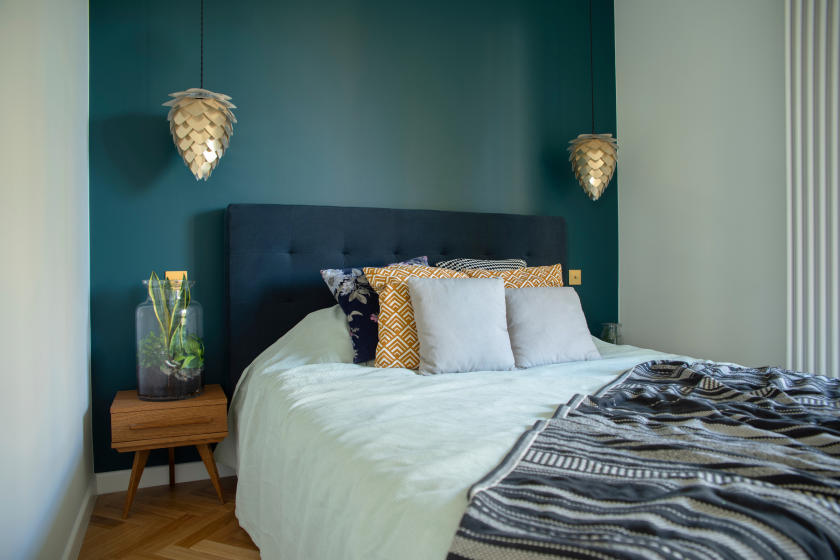 Easy Room Makeover Paint A Stunning Accent Wall Diy True Value Projects True Value
