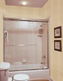 Glass Shower Enclosure For Tub