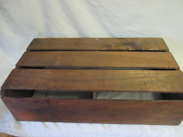 Vintage Hillview California Melons Crate Great Condition Vintage wooden storage crate box garden garage decor