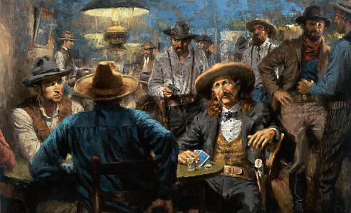 Resultado de imagen para will bill hickok playing cards