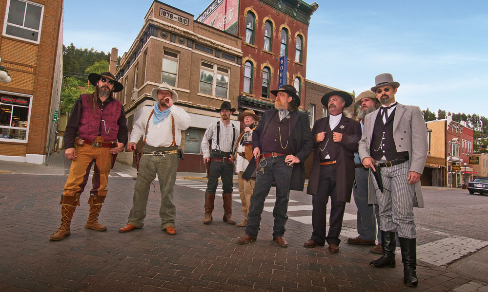 Deadwood, SD re-enactment