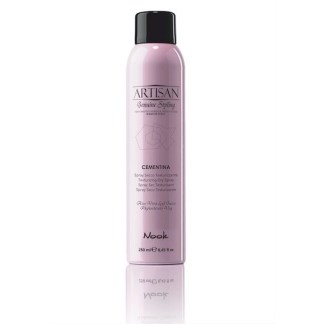 Nook Artisan Cementina Texturizing Dry Spray - Сухой спрей для текстуры, средней фиксации