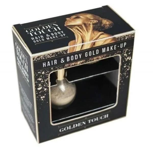 Пудра для тела и волос KayPro Golden Touch Hair & Body Gold Make-Up