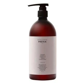 Previa Almond & Linseed Oil Taming Conditioner - Укрощающий кондиционер c органическим экстрактом миндаля и маслом семени льна