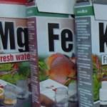 Tests Mg Fe K en aquaponie avec truites