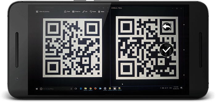 Android Example - Programmatically Scan QR Code and Bar Code