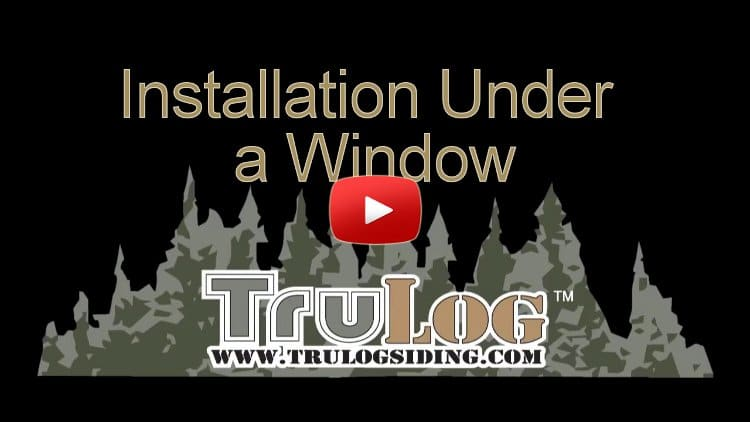 Installation Under a Window