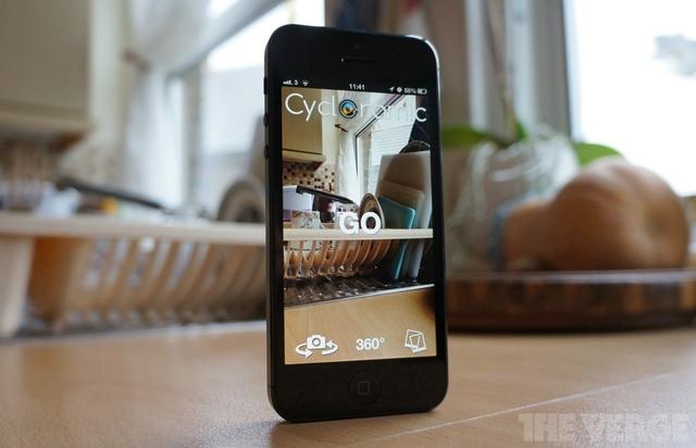 Filma 360-video med iPhone och konvertera till panoramabild