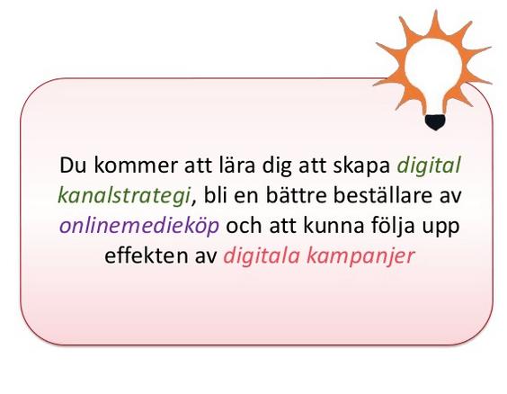 Introduktion till Digital Marknadsföring – del 1