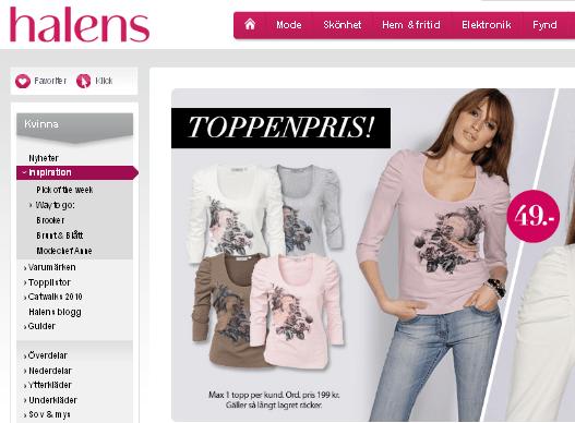 Är Haléns Sveriges bästa sajt?