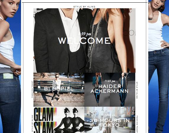 Elin Klings nya sajt saknar stil