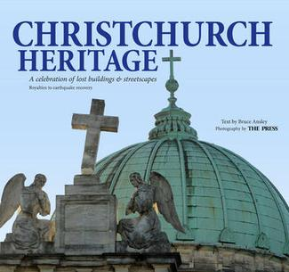 """""""Christchurch Heritage"""" book cover"""