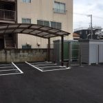 レンタル物置&バイク駐車場併設物件
