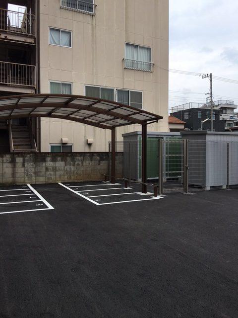 レンタル物置&バイク駐車場経営