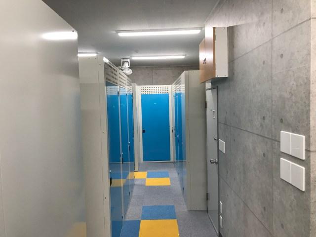 藤沢トランクルーム内部
