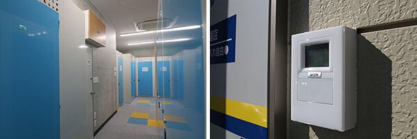 屋内型トランクルームのセキュリティ対策