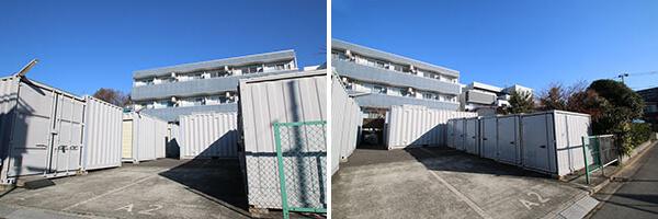 札幌市コンテナ型トランクルーム
