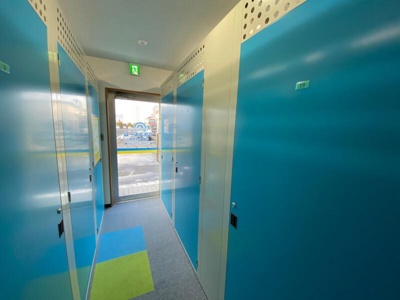札幌市清田区の屋内型トランクルーム