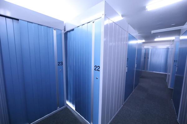 屋内型トランクルーム厚別大谷地