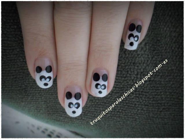 pintauñas oso panda