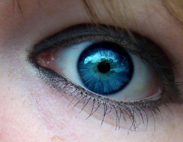 cambiar el color de los ojos