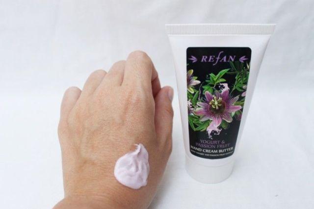 crema de manos marca refan
