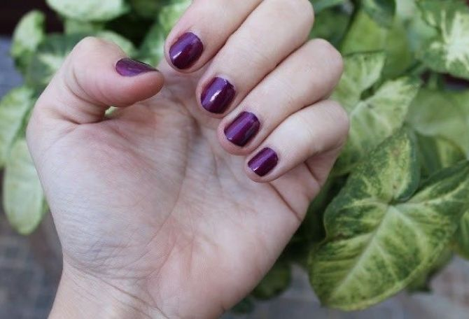 Opi nail lacquer louvre me not