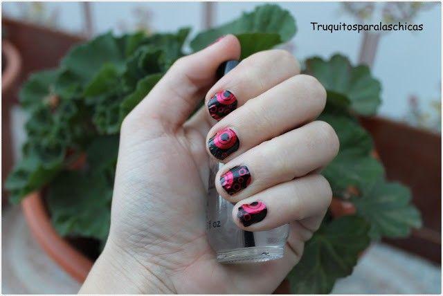 pegatinas para las uñas