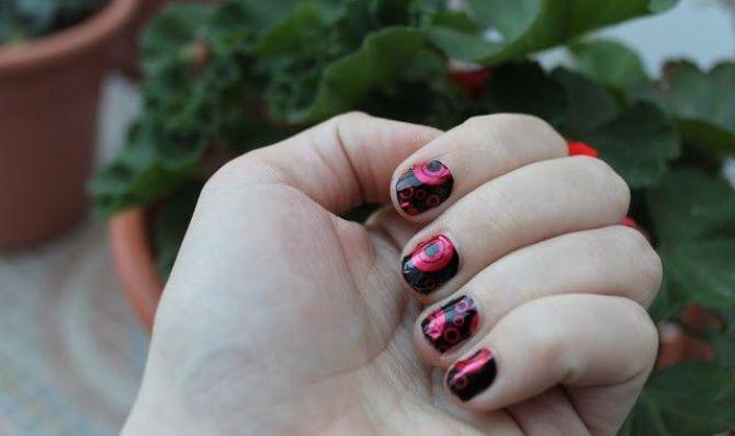 pegatinas de uñas