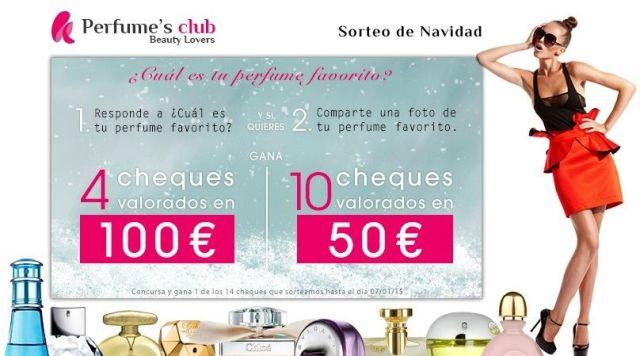 sorteo perfumes club