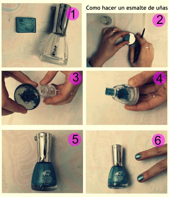 Como hacer un pintauñas casero