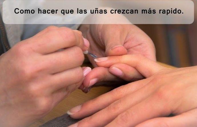 manicura de uñas para que crezcan más rápido
