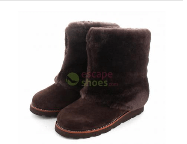 botas ugg marrón chocolate