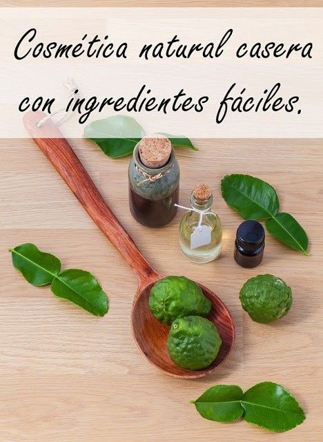 cosmetica natural casera con ingredientes faciles