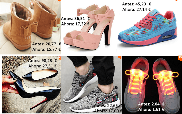 zapatillas y zapatos aliexpress
