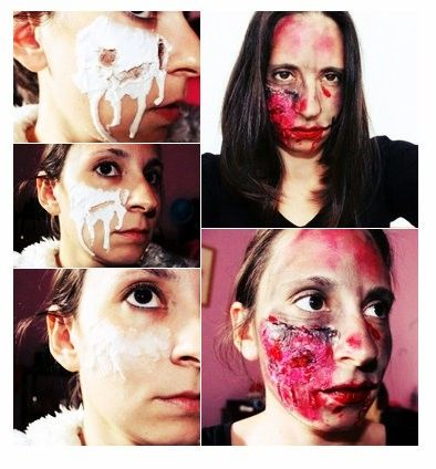 maquillaje sin látexpara halloween