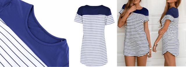 vestido rayas marineras
