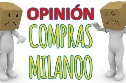 opinión sobre mis compras en Milanoo