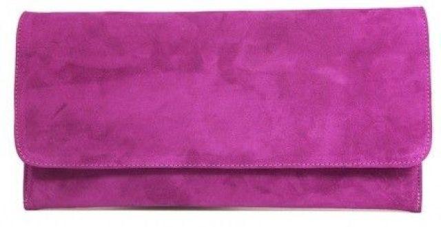 bolso de fiesta lila