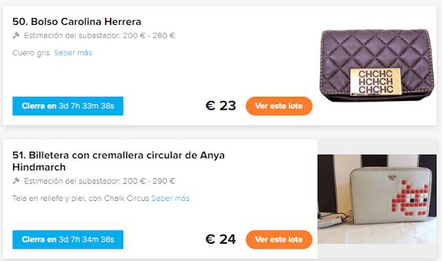 BOLSO CAROLINA HERRERA SEGUNDA MANO