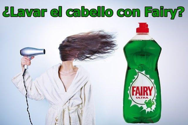 ¿Lavar el cabello con fairy? ¿Funciona como champú?