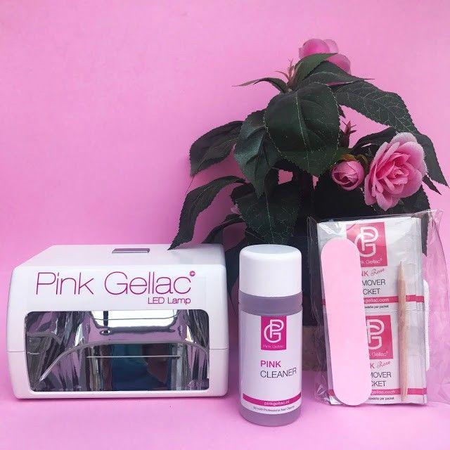 esmaltes permanentes de Pink Gellac